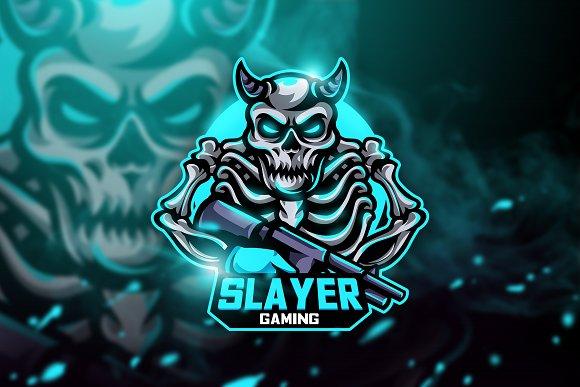 Slayer Gaming - Mascot & Esport Logo