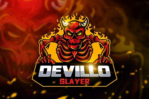 Devillo Slayer - Mascot & Esport Log