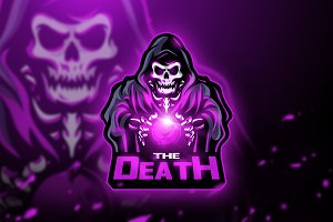 The Death - Mascot & Esport logo