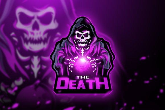 The Death - Mascot & Esport logo