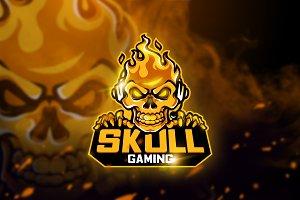 Skull Gaming - Mascot & Esport logo