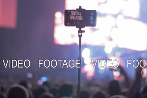 Shooting video with smart phone at