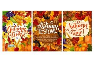 Atumn fall posters