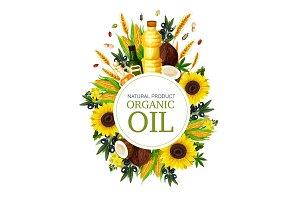Organic natural oil
