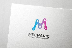 Mechanic Letter M Logo