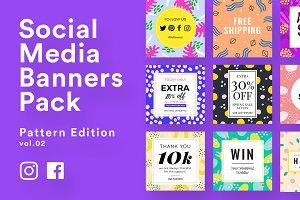 Social Media Banner Templates Vol.2