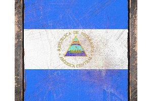 Old Nicaragua flag