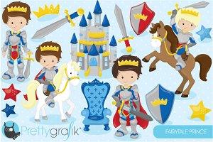 Fairytale prince clipart
