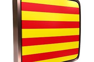 Catalonia Community flag