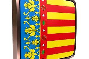 Valencian Community flag