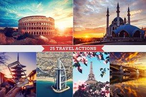 25 Travel Photoshop Actions