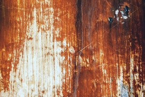 Old scratched metal texture