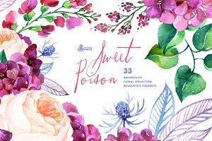 Sweet Poison. Floral collection