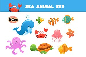 Sea Animal Set
