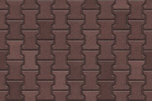 Dumble paver block seamless texture