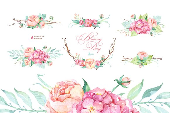 Bloomy Day  Floral Collection