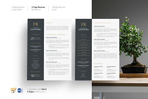CV Design. CV Template. Resume