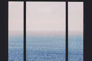 Seascape windows view