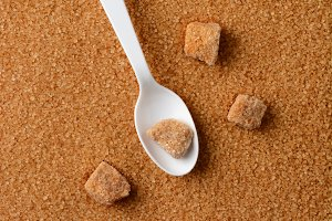 Granulated Brown Sugar Spoon Lumps