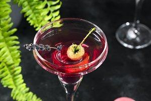 cosmopolitan or margarita cocktail