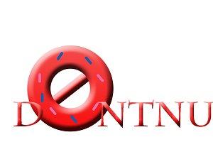 Dontnut Logo Template