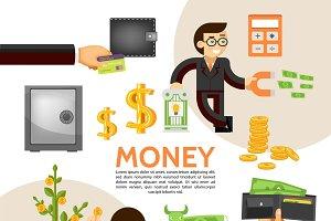 Flat finance template