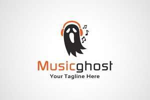 Music Ghost Logo