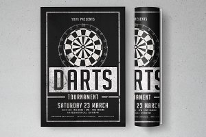 Darts Tournament Flyer