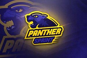 Panther Thunder - Mascot&Esport Logo