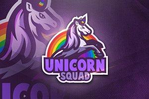 Unicorn Squad - Mascot & Esport Logo