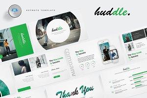 Huddle - Keynote Template