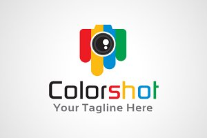 Color Shot Logo Template