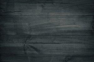Black wooden texture.
