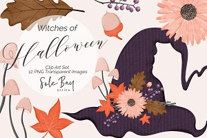Witches of Halloween Collection
