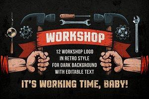 Workshop Color Emblems On Dark