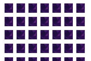 Square pattern.