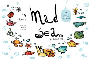 Mad Sea collection - 15 elements