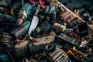 Scrambled Metal Parts