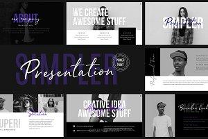 Simpler Presentation Powerpoint