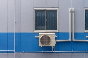 Air conditioning compressor system