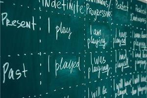 English lesson, school, learn