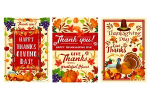 Thanksgiving Day holiday design