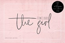 The Girl Font Duo + 12 Insta Posts
