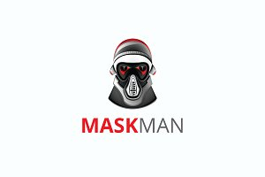 Mask Man Logo
