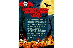 Halloween monster night party