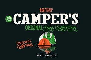Camper Font Pack