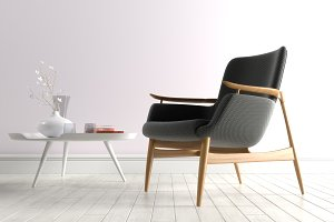 Easy chair NV53 by Finn Juhn design