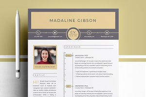 Modern & Clean Resume Template