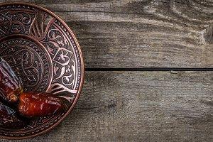 Ramadan kareem holiday concept with