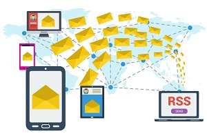 E-mailing RSS worldwide